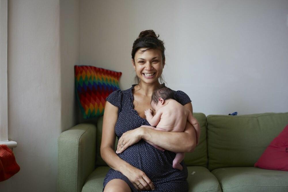HAZEL OG RUDY: Lykke er en av de viktigste følelsene fotograf Jenny Lewis vil formidle.