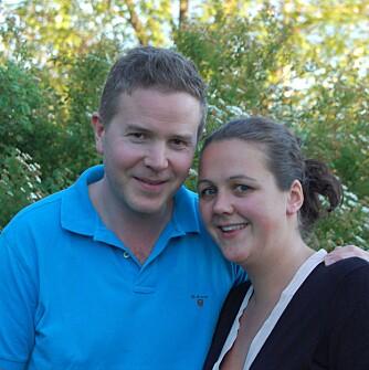 KJÆRESTETUR: Charlotte Blix og Daniel Nordin reiser jevnlig bort bare de to.