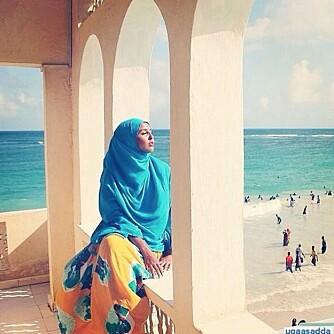 Mange har fått et nytt syn på Somalia etter å ha sjekket ut Ugaasos Instagram-profil. Foto: Instagram