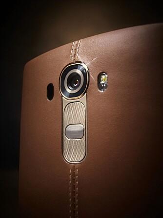 KAMERAET: LG G4 byr på et 16 megapiksel kamera med en blender på f/1.8.