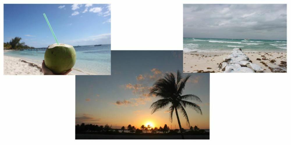 FÆRRA TE MEXICO? Thea Steen tilbrakte nylig to uker på en deilig strand i Mexico.