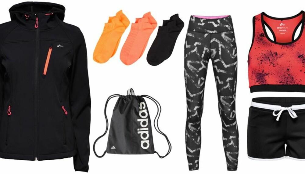4d6d1530 FUNKSJONELLE PLAGG: Det finnes masse fine treningsklær til en billig penge.  Som her: