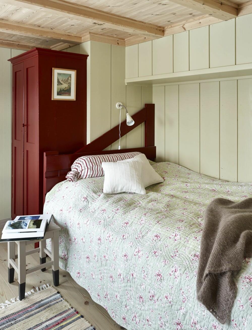 KOSELIG GJESTEROM: Det er flere soveplasser på hytta, og fullt mulig å ta imot venner på overnatting. FOTO: Sveinung Bråthen