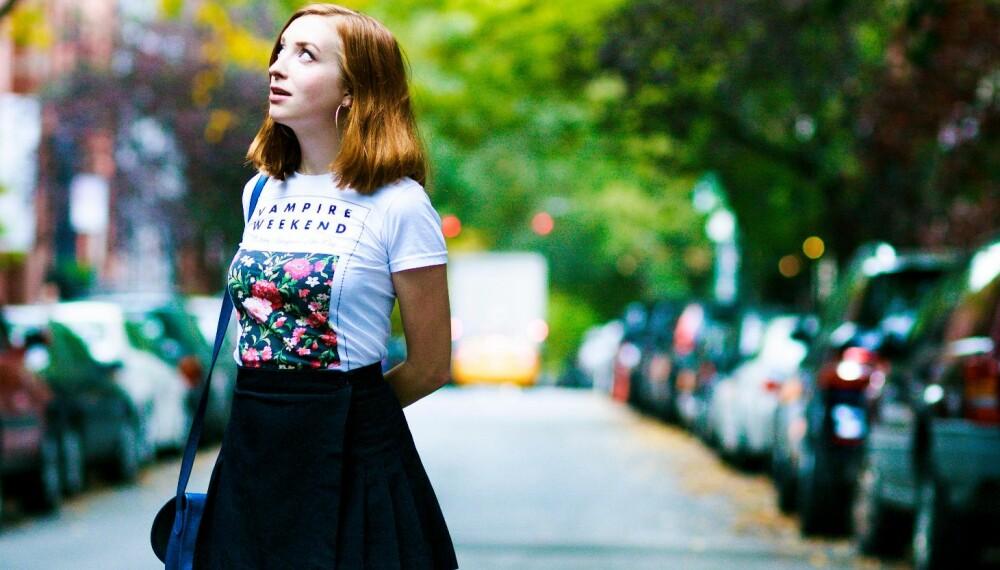 SANDRA BEIJER: Vi har hengt med Sandra i New York, byen hun flyttet til da hun var nyutdannet tekstforfatter.