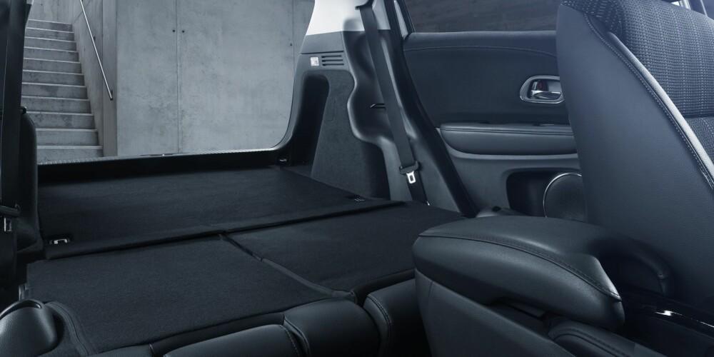 PLASS: Nye HR-V fra Honda skal stiller med meget god plass, relativt sett.