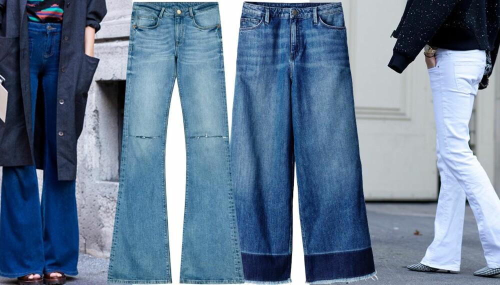 LIKER DU TRENDEN? Slengbuksene er tilbake i trendbildet for fullt, men hva synes kvinnen i gata om den?