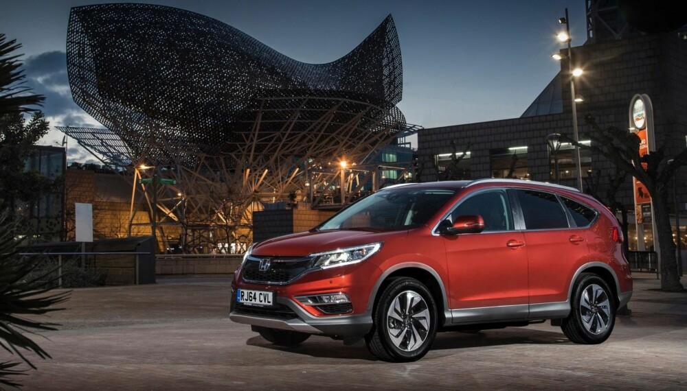 REKORDSTERK: Honda setter inn en topp moderne nitrinnskasse og bytter ut 2,2-litersdieselen med en ny utgave av 1,6 i-DTEC-motoren med hele 160 hk og 350 Nm.