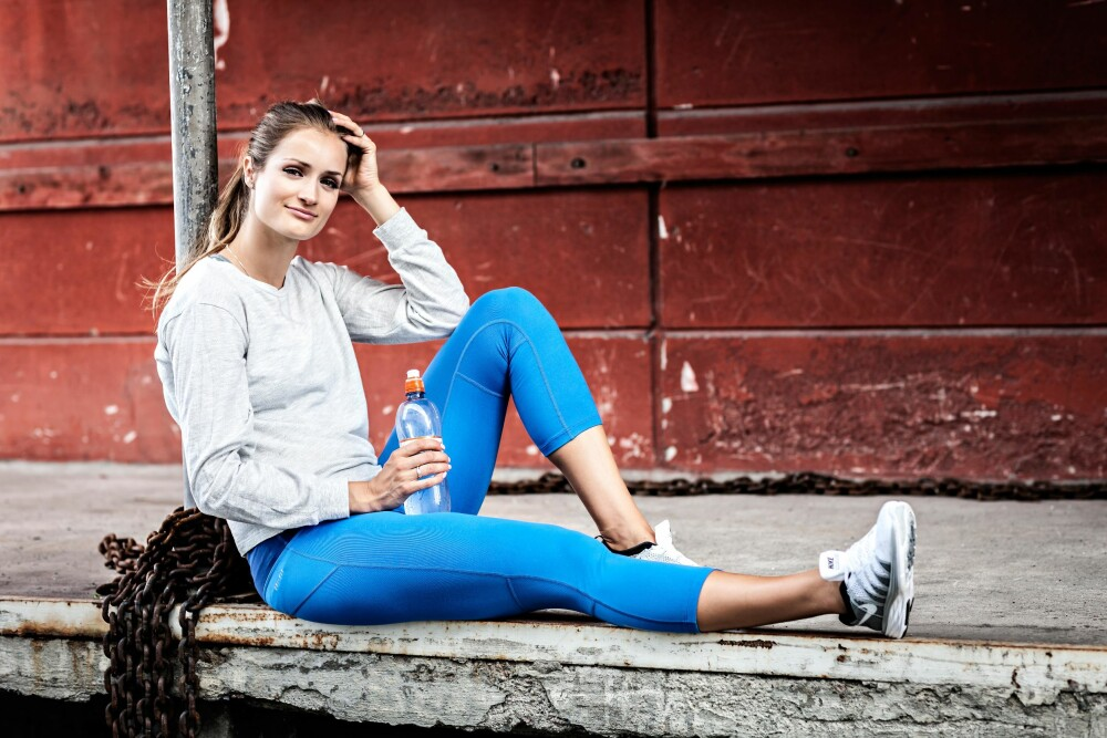 SUNN OG STERK: Christina Vukicevics styrkeprogram passer for alle.