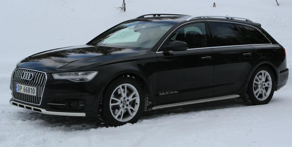 V6: Audi A6 Allroad selges kun med V6-motorer. Det bidrar til godfølelse, og til å tappe kontoen. FOTO: Øyvind Jakobsen