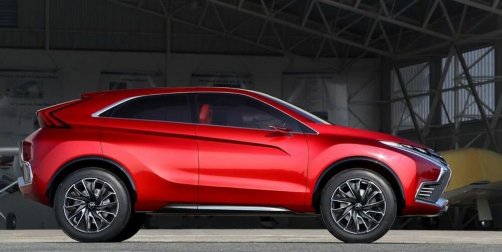 BARSK DESIGN: XR-PHEV, etter alt å dømme nye ASX, viser Mitsubishis nye designretning.