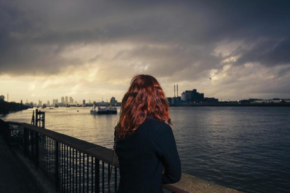 BRUTTE LØFTER: Mens Kristine var på ferie i London, var kjæresten hennes utro med ei annen.