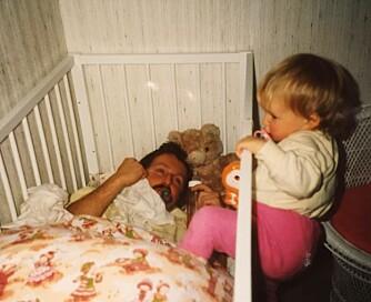MISTET SITT FORBILDE: Marthe Kragtorp var 20 år da pappaen hennes tok sitt eget liv.