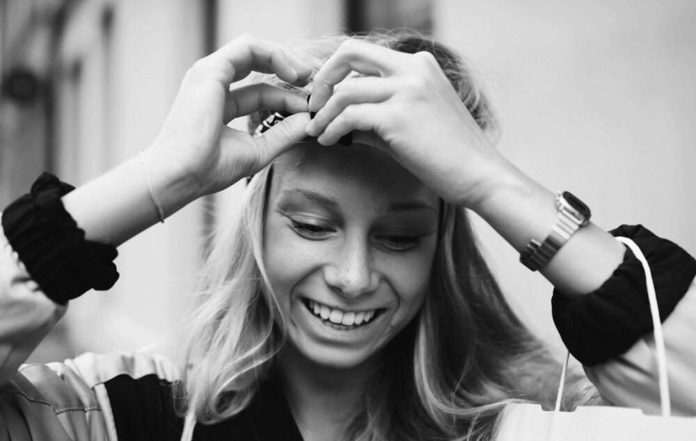 GLAD I MAT: Hanna Fjeldheim Dale (22) fra Bergen.