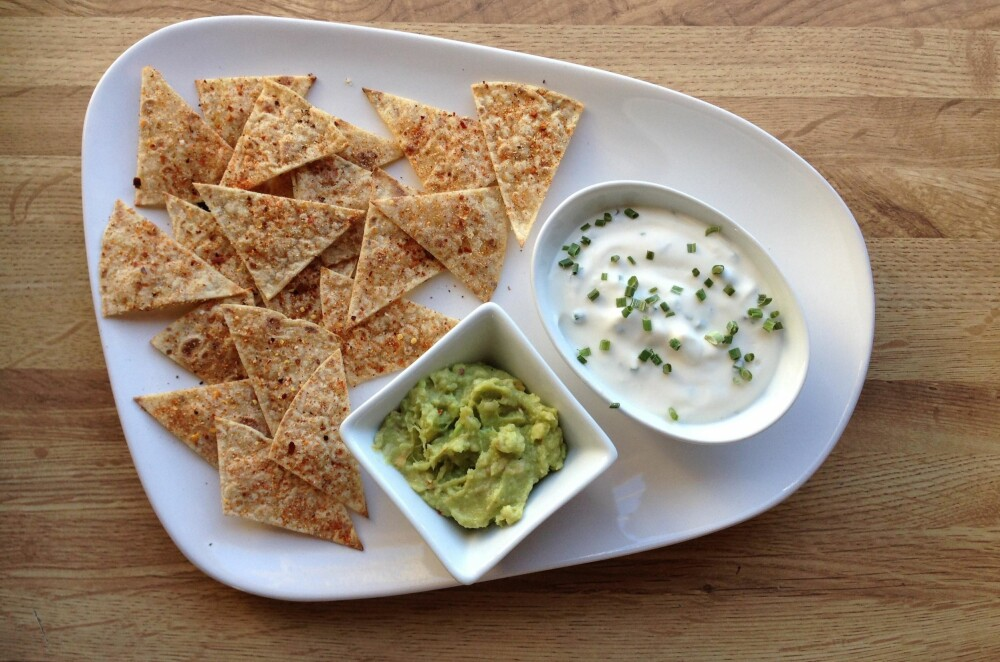 SUNNE CHIPS: Speltlompene kan blant annet brukes som tacoskjell, pizzabunn, wraps, enchiladas og quesedillas, og som chips.