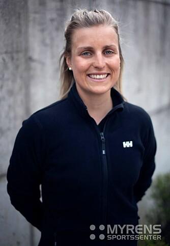 Barbro Sætha, personlig trener ved Myrens Sportssenter. FOTO: Myrens