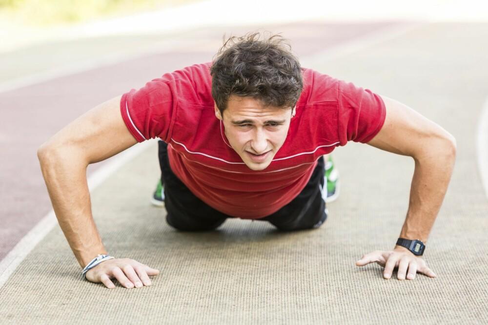TEGN: Hvis du føler utmattelse der du normalt ikke skulle ha gjort det, er det et faresignal du bør ta på alvor. FOTO: Thinkstock.