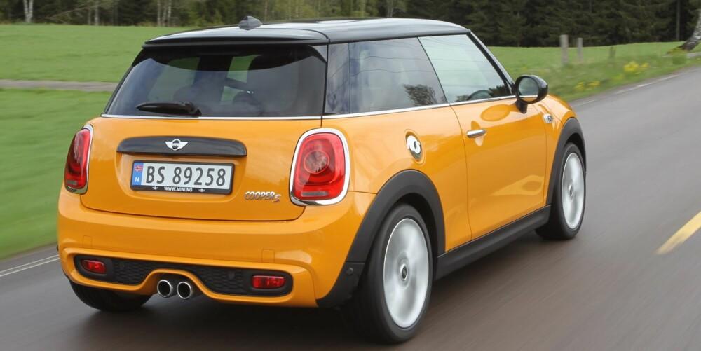 BEST VALUE: Etter å ha testet Mini Copper S tør vi påstå følgende: Den gir mest moro for pengene på nybilmarkedet i dag.