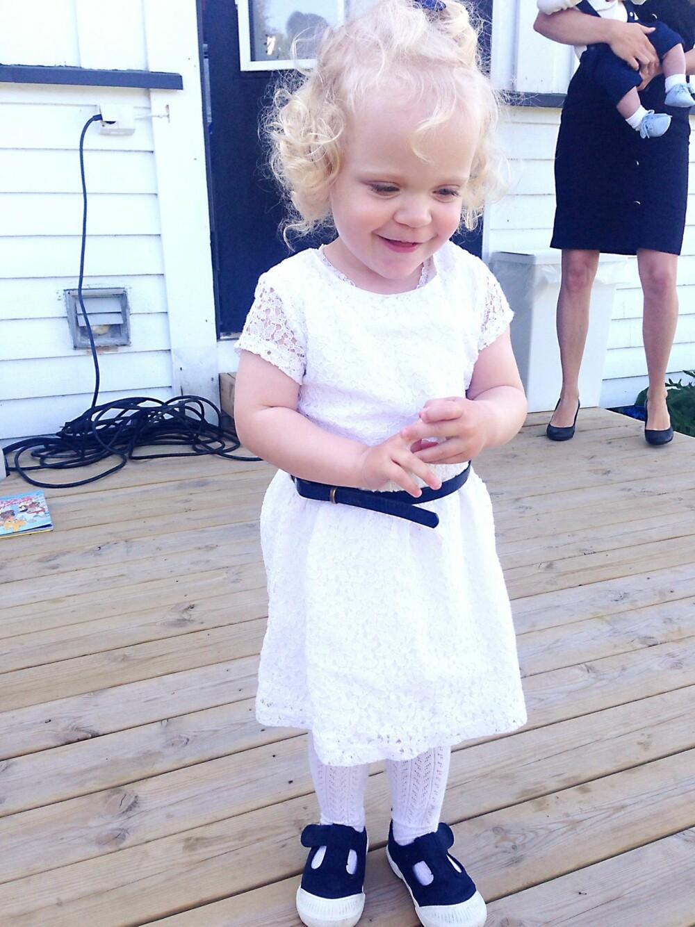 2 ÅR: Emily har blitt 2 år og lever akkurat som sine jevnaldrene.