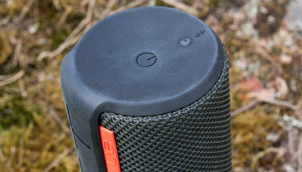 SYLINDER: UE Boom fra Logitech er formet som en sylinder og sender lyden ut i alle retninger.