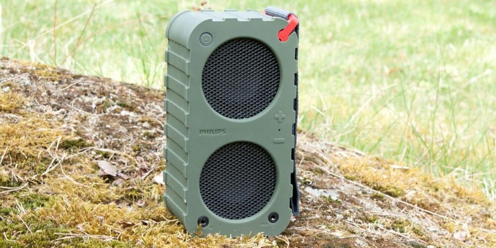 SOLID: Den militærgrønne utgaven av SB5200 ser ut som den tåler en trøkk.