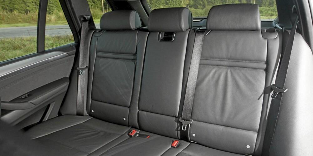 Plassmessig gjør BMW X5 xDrive30d samme nytten som en familiestasjonsvogn