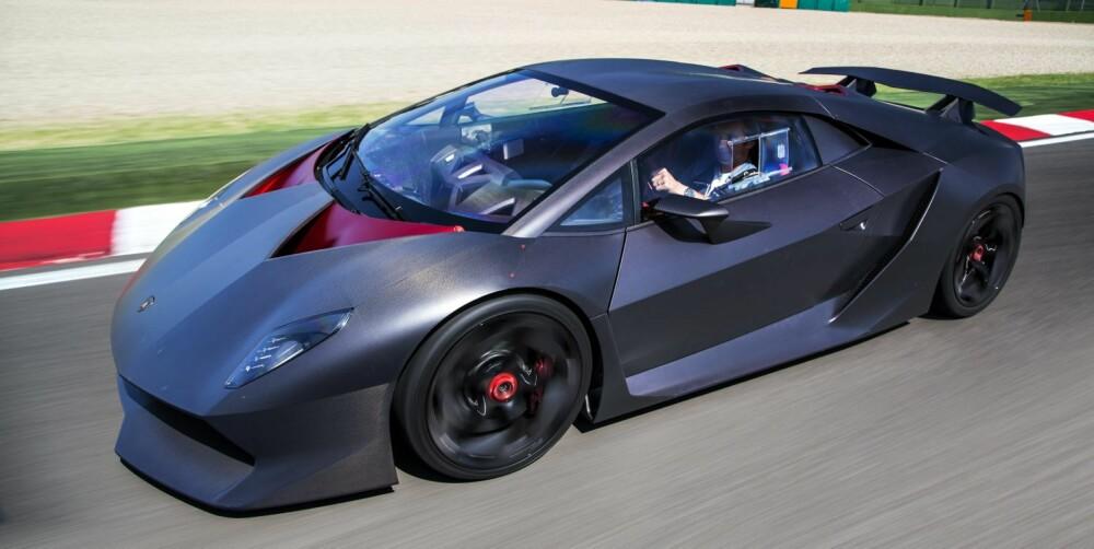 SKREMMENDE: Imola er en skremmende bane for en så rask bil som Sesto Elemento. FOTO: Justin Leighton