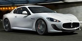 RÅERE: Maserati GranTurismo MC Stradale.