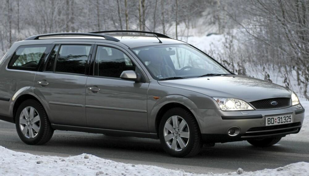 Ford Mondeo er praktisk, men også av de mest velkjørende familiebilene på bruktmarkedet.