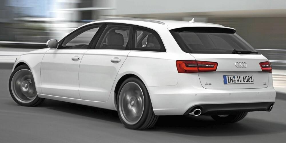 DESIGN: Det er liten tvil om at Audis designavdeling har hatt et svært godt grep om A6-linjene.