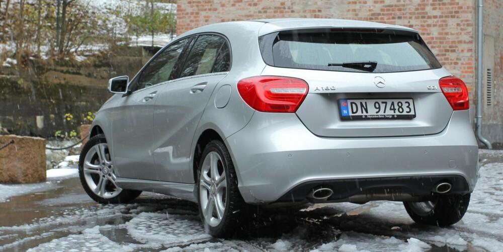 PRIS: Prisen for Mercedes-Benz A180 CDI Automat starter på 302 500 kroner. FOTO: Petter Handeland