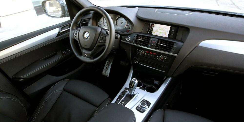 SPORT: Det koster å utstyre en BMW X3, men de svært gode sportssetene er et av elementene du skal ta med deg.