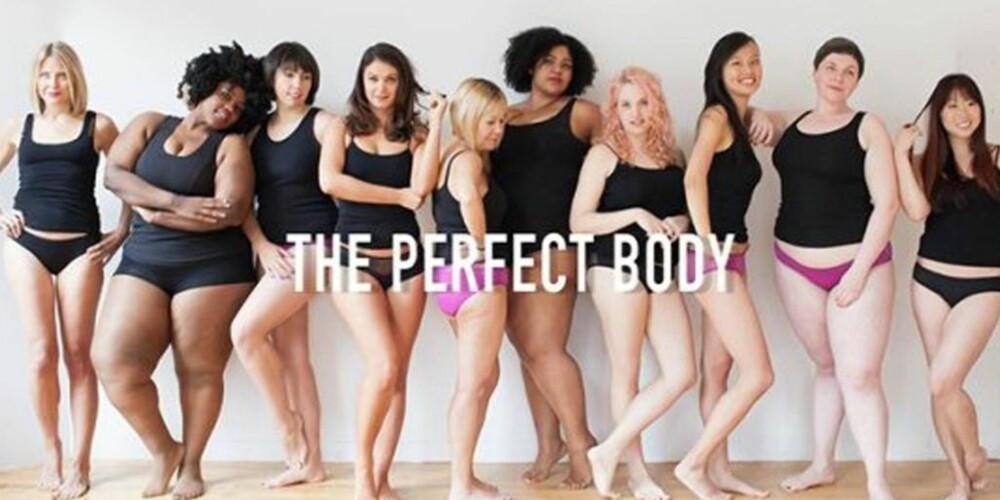 """ULIKE STØRRELSER: Også undertøysprodusenten Dear Kate har laget sin egen versjon av den nå berømte """"Perfect Body"""" kampanjen til Victoria's Secret. FOTO: Dearkate.com"""