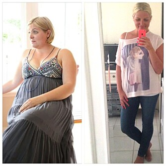NY STIL MED NY VEKT: Lise Mette har gått ned 35 kilo på et år, og ønsket hjelp med å finne klær som passer den nye kroppen hennes.