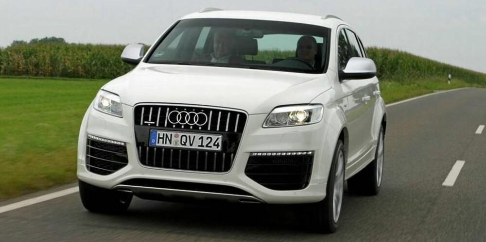 I 2008 lanserte Audi Q7 med en V12-dieselmotor på 500 hk og 1000 Nm. FOTO: Vi Menn Bil Top Gear