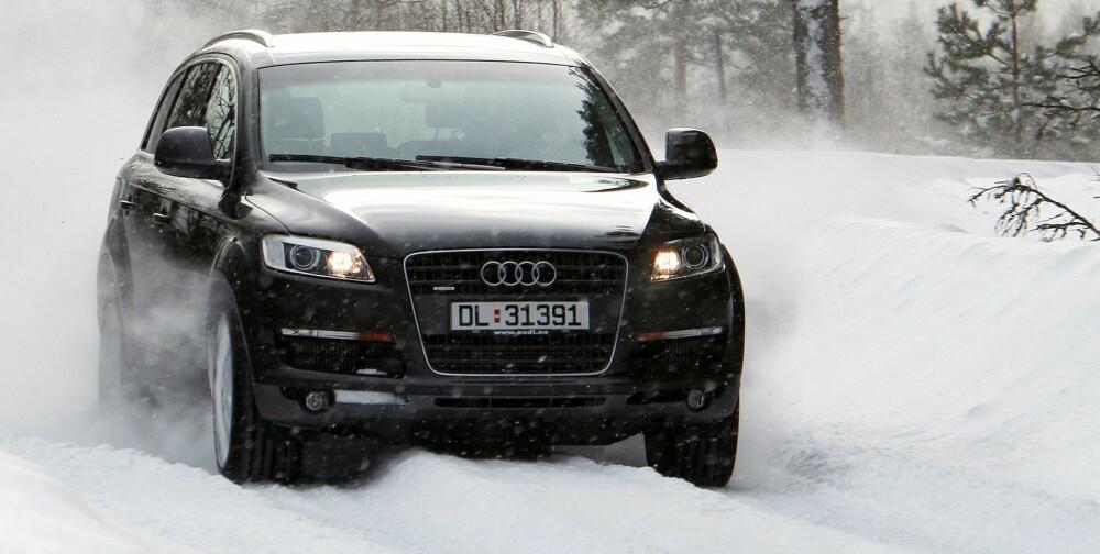 Audi Q7 ble lansert for første gang i Norge i 2006. FOTO: Terje Bjørnsen