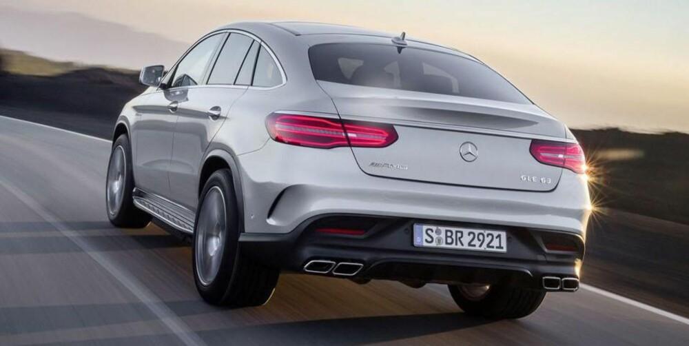 SUV-COUPÉ: Av de serieproduserte SUV-ene, blir dette verdens sterkeste. FOTO: Daimler Ag