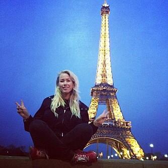 OUI, OUI PARIS: Turen til Paris i 2013 ble Thea Steens første tur alene.