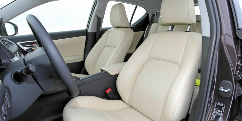 LUXURY: I toppversjonen Luxury har du det som i en langt dyrere luksusbil.