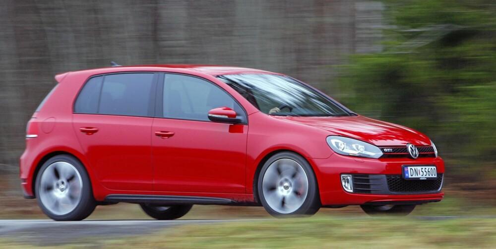KLASSENS BESTE: Totalpakka man får i Golf GTI er per dags dato den beste bilen i GTI-klassen.