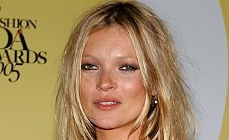 MELLOMROM: Kate Moss har også stort mellomrom mellom øynene