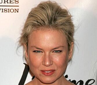 SMÅ ØYNE: Renee Zellweger er et eksempel på en med små øyne.