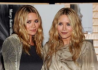 STORE ØYNE: Olsen-tvillingene har store runde øyne.