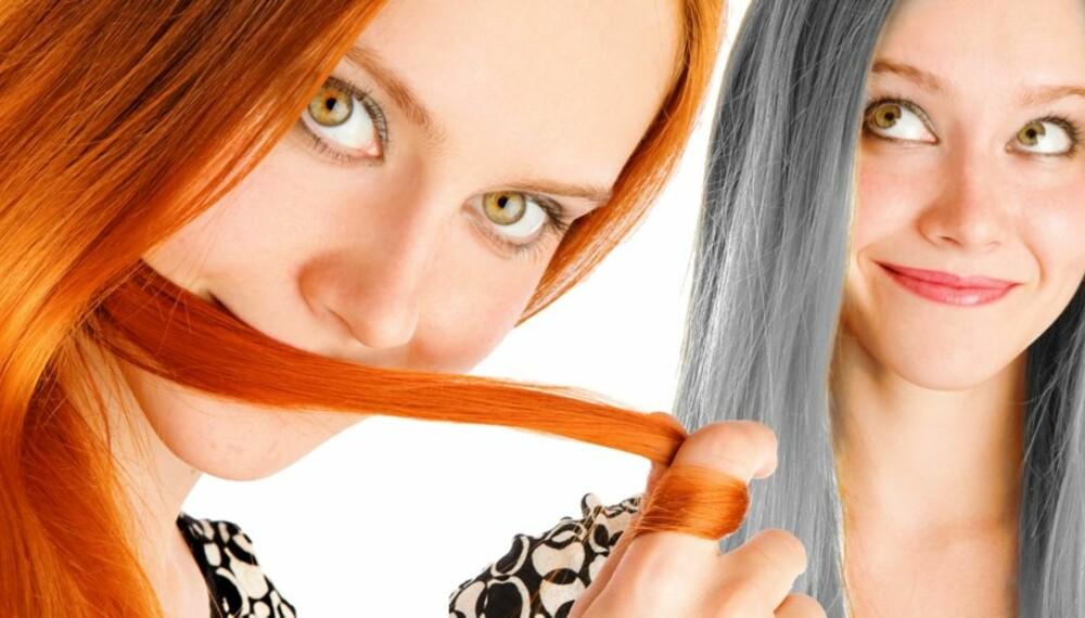 GRÅTT HÅR: Det finnes ting du kan gjøre for å bremse for tidlig aldring av håret.