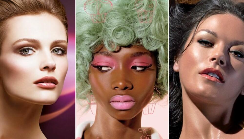 VÅRLOOKENE: Slik vil Dior, Mac og Elizabeth Arden at vi skal sminke oss denne våren.