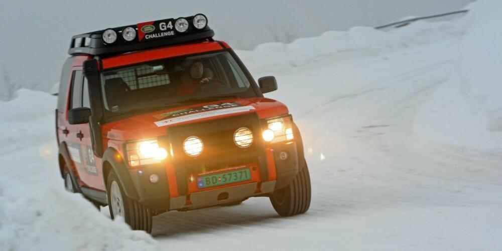 BARSK: Discovery har unektelig et macho-image som få biler kan matche - spesielt i G4 Challenge-versjon.
