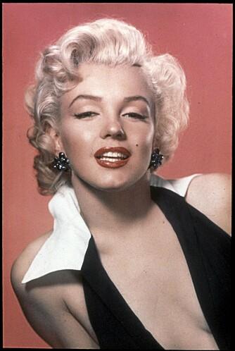 PIGMENTER: Naturlig hårfarge eller farge du tilsetter  ved farging. Marilyn har nok tilsatt litt lyse pigmenter i denne blonde manken.