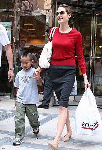 MADDOX: Angelina Jolies sønn har en klassisk mohawk!