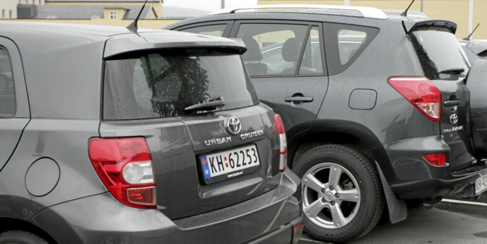 FJERNT OPPHAV: Mye lavere, mye mindre, ikke SUV. Urban Cruiser 1,33 er en meget fjern Rav4-slektning.