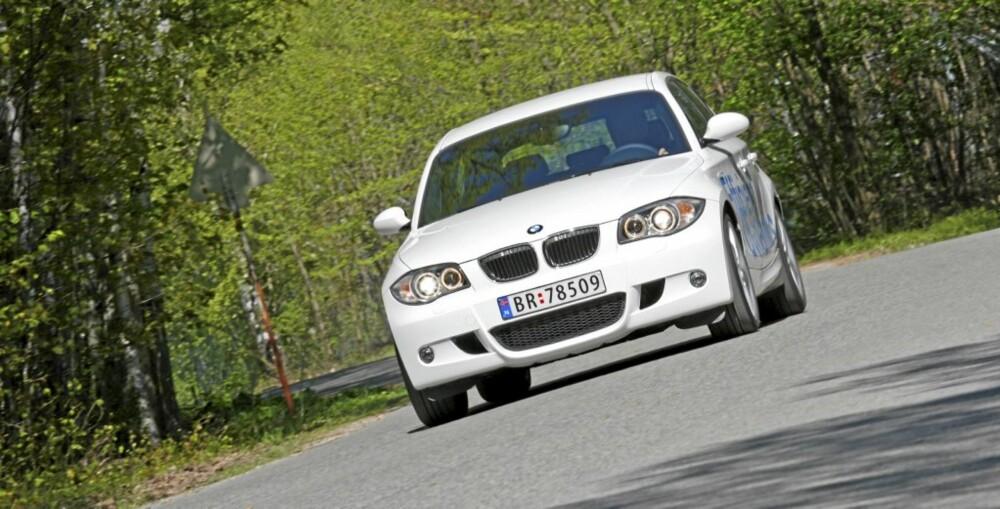 KJØREGLEDE: BMW-mantraet gjelder også i 116i.