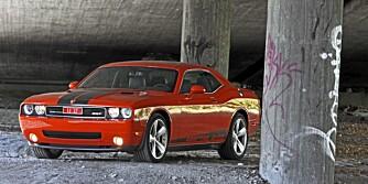 Hvis vi skulle valgt, kunne kanskje Challengers V8 oppveid for øvrig indiskresjon.